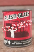 dp-201114-19 PLASTI-GLAZE / Vintage Tin Can