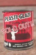 dp-201114-19 PLASTI-GLAZE / Vintage Tin Can