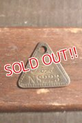 "dp-201114-38 Ford / 1930'-1940's Tool Check Brass Tag ""N8223"""