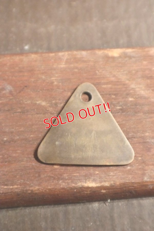 "画像3: dp-201114-38 Ford / 1930'-1940's Tool Check Brass Tag ""N8219"""