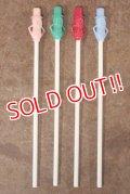 ct-201201-40 PLANTERS / MR.PEANUT Vintage Straw (バラ売り)