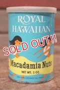 ct-201201-41 Royal Hawaiian / Macadamia Nuts Can