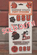 ct-201114-27 OREGON STATE UNIVERSITY / 1984 Puffy Stickers