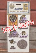ct-201114-27 LOUISIANA STATE UNIVERSITY / 1984 Puffy Stickers
