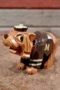 ct-210101-03 Anri 1950's College Mascot Figure / University of Montana