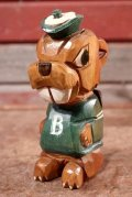ct-210101-03 Anri 1950's College Mascot Figure / Babson College