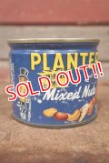 ct-210101-25 PLANTERS / MR.PEANUT 1970's-1980's Mixed Nuts Tin Can