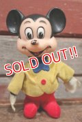 ct-210101-69 Mickey Mouse / 1960's Rubber Face Doll