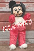 ct-210101-77 Mickey Mouse / GUND 1950's Rubber Face Doll