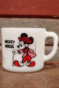 ct-210101-81 Mickey Mouse & Minnie Mouse / Anchor Hocking 1980's Mug (B)