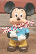 """ct-210101-70 Mickey Mouse / 1980's Rubber Doll  """"JAPAN"""""""