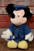 "ct-210101-75 Mickey Mouse / 1999 Plush Doll ""Graduation"""