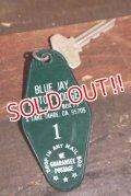 dp-210101-46 BLUE JAY MOTOR LODGE / Vintage Room Key