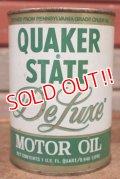 dp-201201-40 QUAKER STATE / De Luxe Motor Oil One U.S. Quart Can