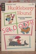 ct-201114-31 Hucklebery Hound / GOLD KEY October 1962 Comic