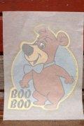 ct-201114-62 Boo Boo / 1976 Iron Transfer Sheet