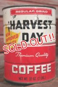 dp-210101-61 HARVEST DAY COFFEE / Vintage Tin Can