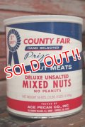dp-210101-38 COUNTRY FAIR MIXED NUTS / Vintage Tin Can