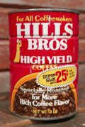 dp-210101-55 HILLS BROS HIGH YIELD COFFEE / Vintage Tin Can
