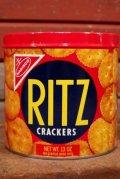dp-210101-62 RITZ CRACKERS / 1970's Tin Can