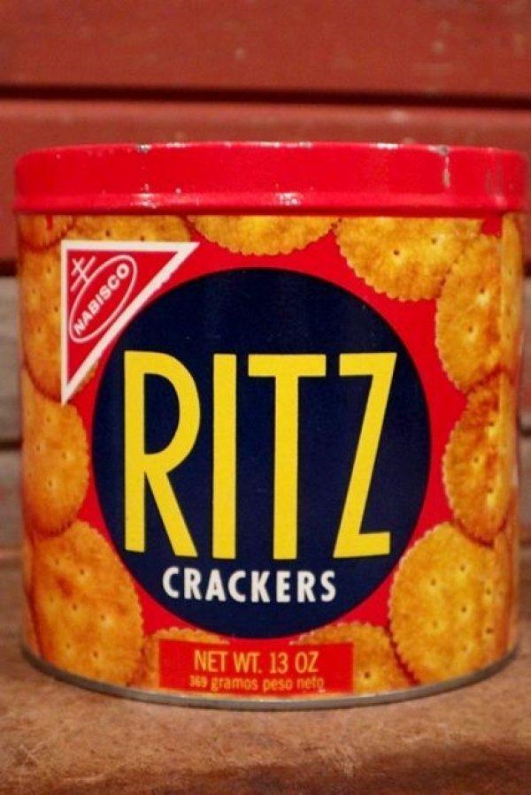 画像1: dp-210101-62 RITZ CRACKERS / 1970's Tin Can