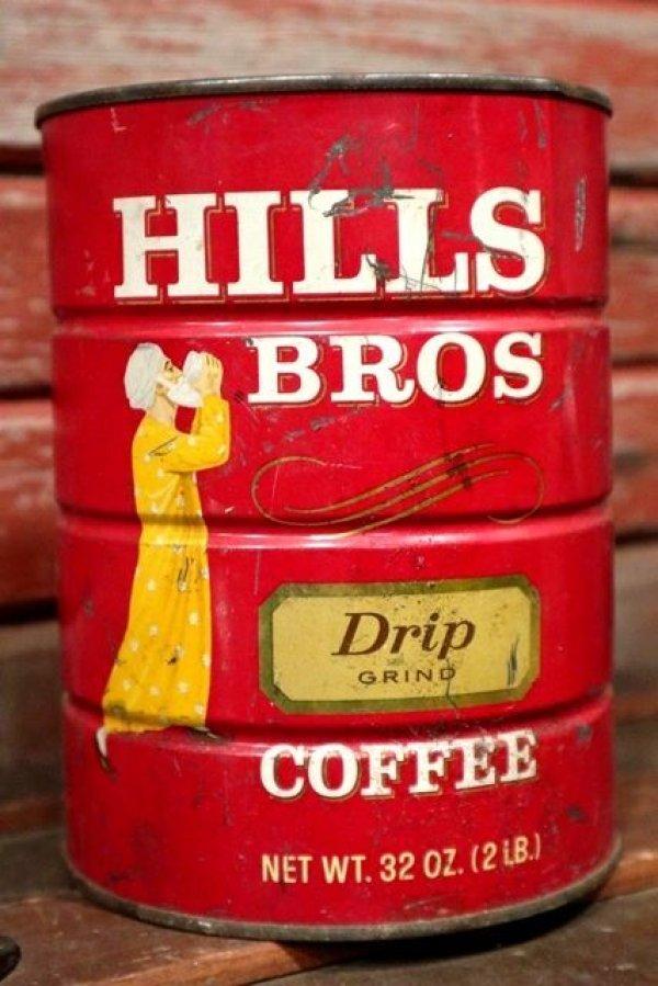 画像1: dp-210101-56 HILLS BROS Drip COFFEE / Vintage Tin Can