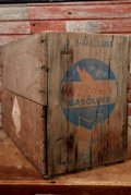 dp-210201-20 CHEVRON GASOLINE / 1950's Wood Box