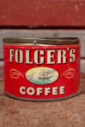 dp-210201-23 FOLGER'S COFFEE / Vintage Tin Can