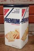 dp-210101-28 NABISCO / PREMIUM Saltine Crackers 1978 Tin Can