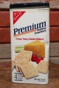 dp-210101-30 NABISCO / Premium Saltine Crackers 1985 Tin Can