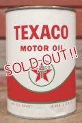 dp-210201-07 TEXACO / Motor Oil One U.S. Quart Can