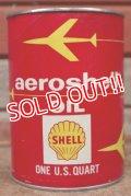 dp-210201-07 SHELL / aeroshell One U.S. Quart Can