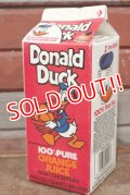 ct-210101-66 Donald Duck / 1980's〜 Orange Juice Pack