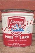 dp-210201-68 Sigman's / Vintage Lard Can