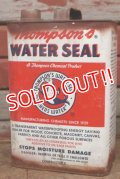 dp-210201-64 Thompson's WATER SEAL / Vintage Tin Can