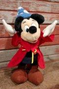 "ct-210201-22 Mickey Mouse / 1990's〜Plush Doll ""FANTASIA"""