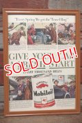dp-210301-07 Mobil / The Saturday Evening Post Vintage Advertisement (16)