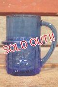 ct-210301-05 PLANTERS / MR.PEANUT 1950's-1960's Glass Mug (Blue)