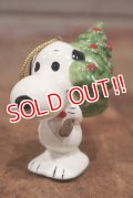 """ct-210301-15 Snoopy / Determined 1975 Ornament """"Christmas Tree"""" (A)"""