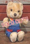 ct-210301-11 Knickerbocker 1980's Sunshine Bear Plush Doll