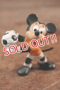 """ct-141209-78 Mickey Mouse / Bully PVC Figure """"Goal Keeper"""""""