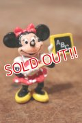 """ct-141209-77 Minnie Mouse / Applause PVC Figure """"ABC"""""""