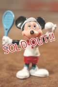"""ct-141209-77 Mickey Mouse / PVC Figure """"Tennis"""""""