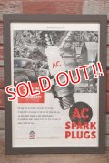 dp-200701-56 AC SPARK PLUGS / The Saturday Evening Post 1940's Advertisement