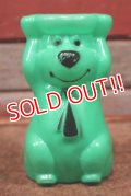 ct-210301-20 Yogi Bear / 1960's Stackable Toy (Green)