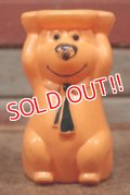 ct-210301-18 Yogi Bear / 1960's Stackable Toy (Orange)