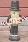 ct-210301-72 PLANTERS / MR.PEANUT 1940's Cast Iron Coin Bank