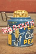 ct-210301-73 PLANTERS / MR.PEANUT 1940's-1950's Cocktail Peanuts Tin Can