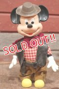 ct-210301-48 Mickey Mouse / Durham 1980's Cowboy Doll