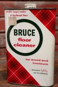 dp-210301-42 BRUCE floor cleaner / Vintage Tin Can